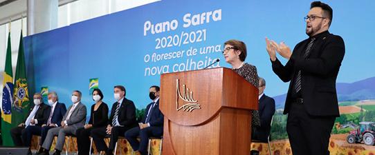 Governo lança Plano Safra 2020/2021