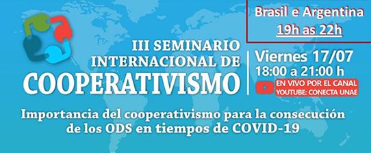 Sistema Ocergs participa de III Seminário Internacional de Cooperativismo