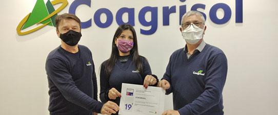 Coagrisol está entre as melhores empresas do agro para se trabalhar em todo Brasil