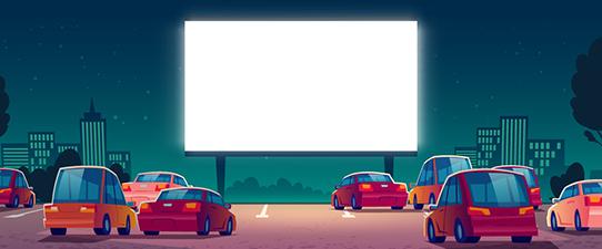 Primeira sessão do Cine Drive-in Cooperar será dia 1º de agosto