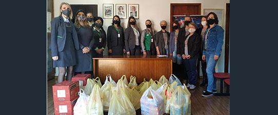 Sicredi das Culturas RS/MG entrega mais 2,4 toneladas de alimentos na região