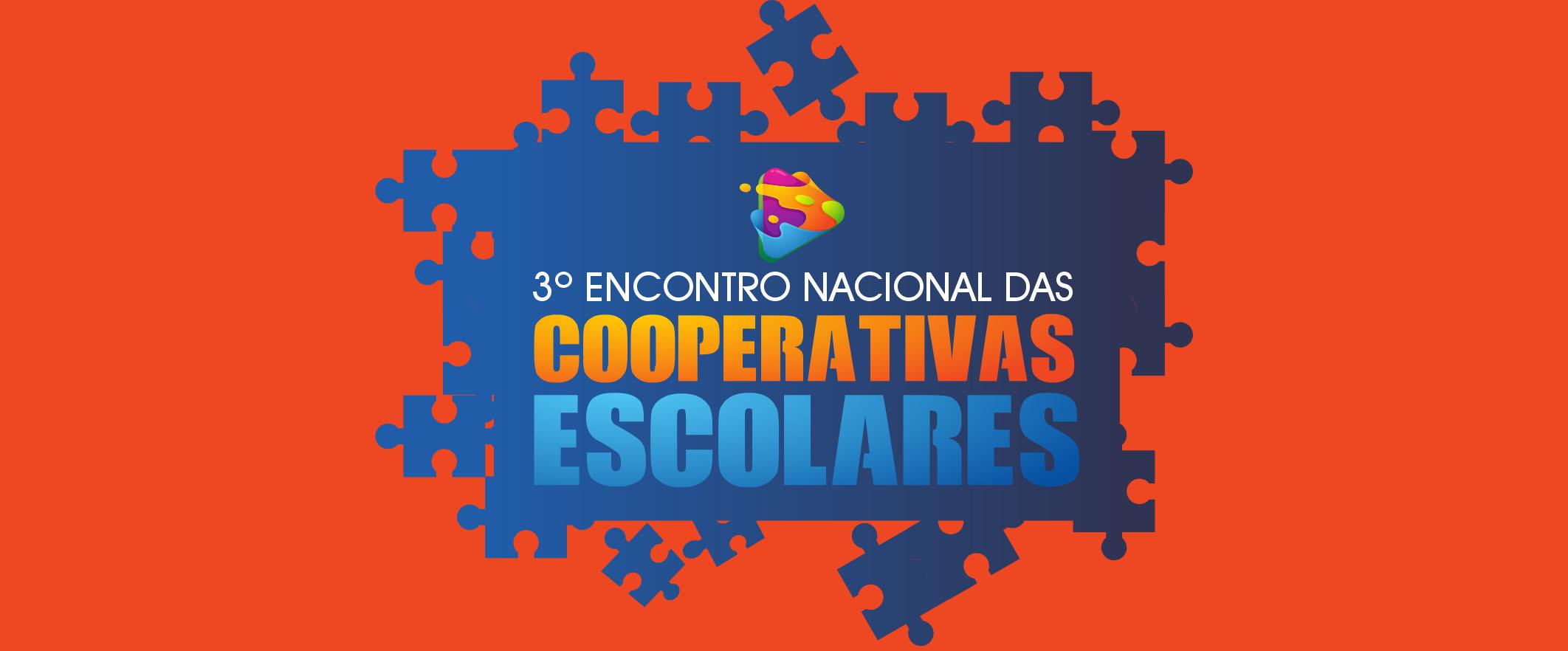 Inscrições para o 3º Encontro Nacional de Cooperativas Escolares estão abertas