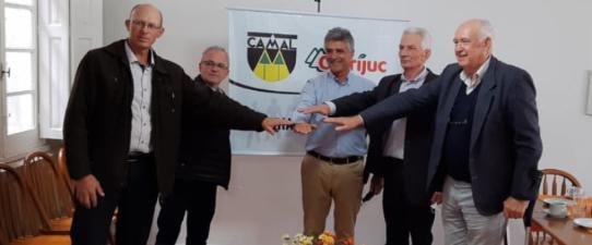 Camal e Cotrijuc colocam intercooperação na prática
