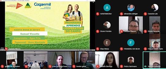 Coopermil forma segunda turma do Programa Aprendiz Cooperativo do Campo