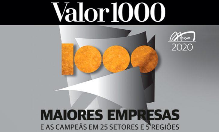 Valor 1000 relaciona coops gaúchas entre as 1.000 maiores empresas