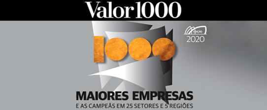 Valor 1000 relaciona coops gaúchas entre as 1.000 maiores empresas brasileiras