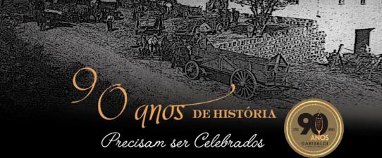 Cooperativa Vinícola Garibaldi comemora 90 anos com programação virtual no dia 22