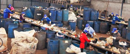 Copercicla é modelo na reciclagem