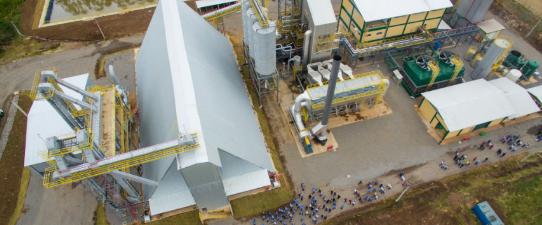 Empreendimento cooperativo gera 56 milhões de kw/h/ano a partir da queima da casca de arroz