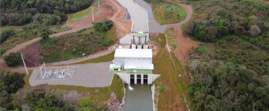 Coops constroem PCH com capacidade de gerar energia para 30 mil famílias
