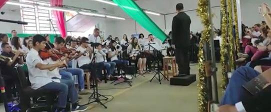 Sicredi habilita jovens para o ingresso na carreira militar através da música