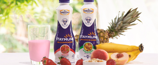Santa Clara lança a bebida láctea que fortalece a imunidade