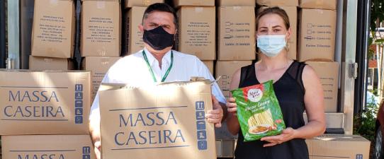Cotrirosa segue com doações para enfrentamento da pandemia