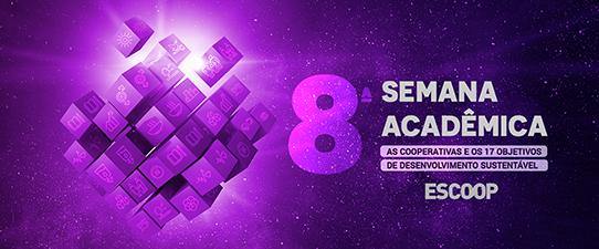 Inscrições abertas para a 8ª Semana Acadêmica da Escoop