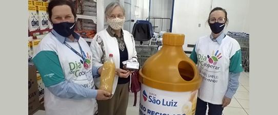 Coopermil realiza campanha de recolhimento de óleo de cozinha utilizado