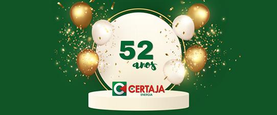 Certaja celebra 52 anos de existência